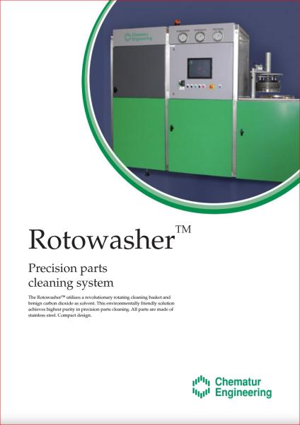 Brochure - Rotowasher - Chematur Engineering AB